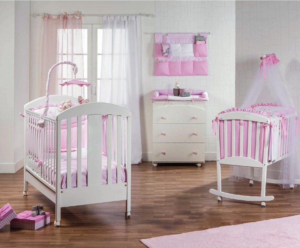Portable Factory Direct Baby Log Crib Furniture Nursery Product On Alibaba