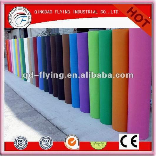 Colored Polypropylene Spun bonded Pp non woven fabric rolls  for bag Cheap Prices tnt Non Wovens