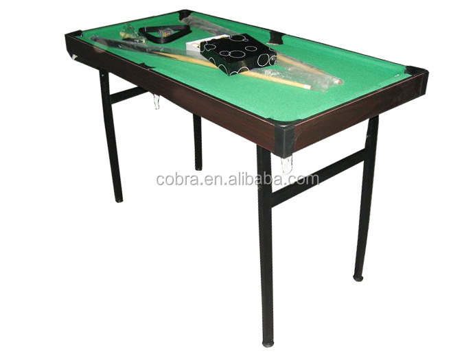 Wholesale Best Price 3 In 1 Game Tables Folding Legs Pool Table