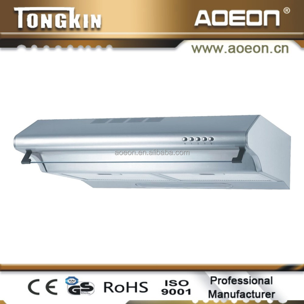 Stainless Steel Kitchen Aire Copper Island Small Range Hood With CE,Rohs  Certification Of AH1360