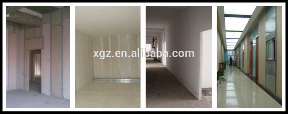 XGZ waterproof EPS fiber cement sandwich panel