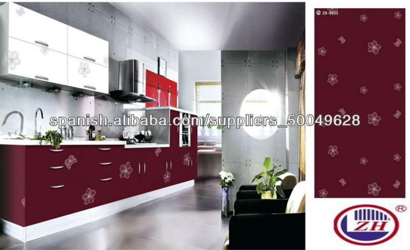 tableros MDF acrílico para mueble de cocina-Partes y Accesorios de ...