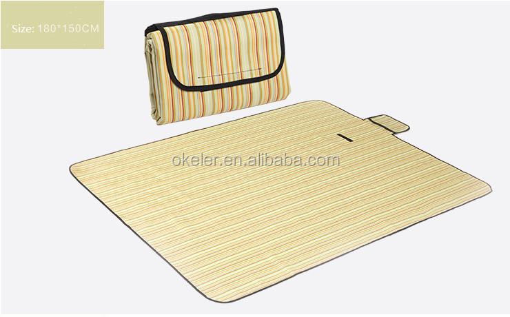 High quality collapsible camping picnic beach moisture-proof mat