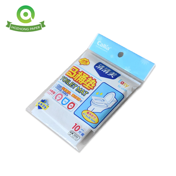 Eco-Friendly Hygienic Flushable toilet seat cover Paper