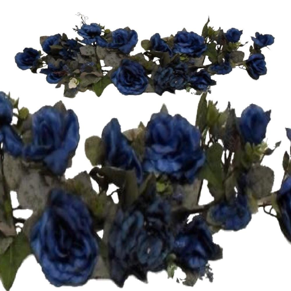 Cheap artificial flowers hydrangea find artificial flowers artificial flowers for decoration victorian floral swag blue silk flowers rose hydrangea 28 artificial izmirmasajfo