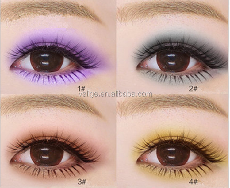 Brighten Eyes 4color Multi Colored Highlight Eyeshadow Palette ...