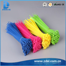 Colorful Nylon 66 Plastic Cable Tie,Nylon Cable Tie Made In China width ROHS, CE