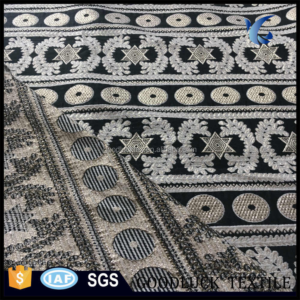 China Wholesale Best Selling Beautiful Polyester Jacquard Brocade