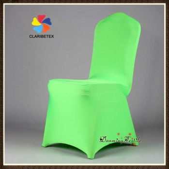 wholesale lycra spandex wedding chair cover in bright green buy