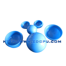 40mm two-half openable plastic hollow ball