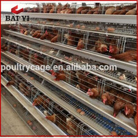 Anping Baiyi Steel Chicken Coop For layers Sale Cheap On Alibaba