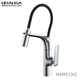 HRAMSA New arrival single handle deck mounted Brass kitchen mixer sink faucet