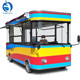 Mobile dining bus electric fast food dining car