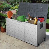 plastic storage boxes for garden, garden storage units plastic, large plastic garden storage box