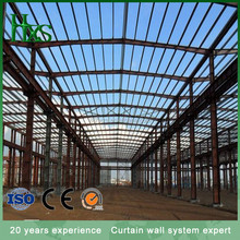 Steel roof light weight steel arch truss roof for metal building