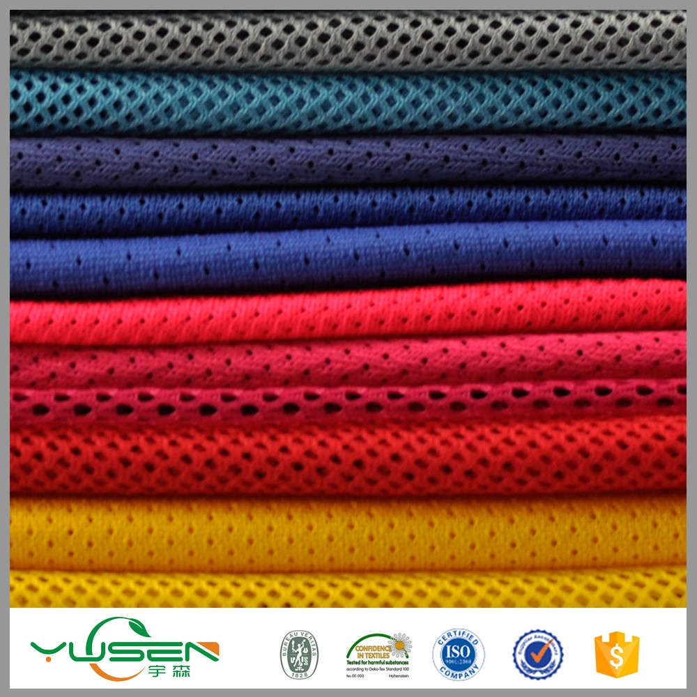 Poly Stretch Outdoor Mesh Fabric Wholesale