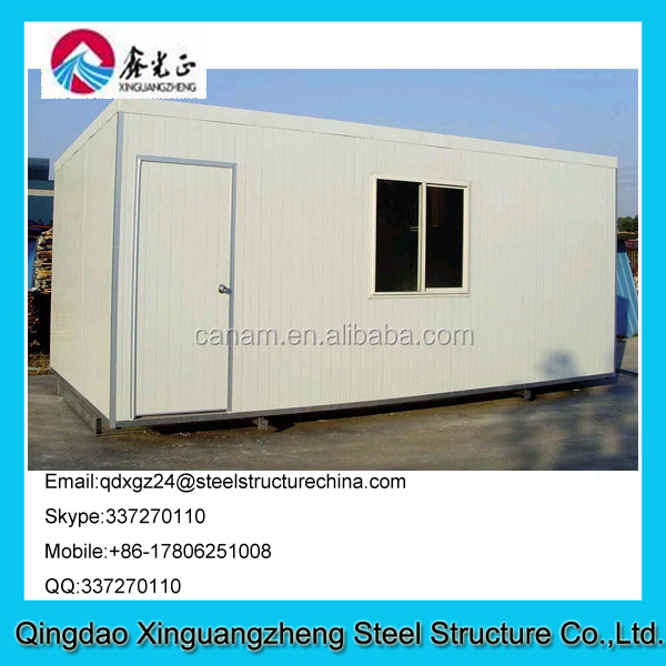 Steel structure sandwich panel wall container refugee tent red cross refugee tent