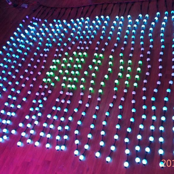 pixel led ball light