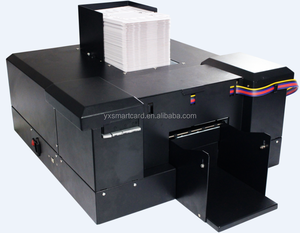 China Automatic Inkjet PVC Plastic Card Printer for ID Card Printing