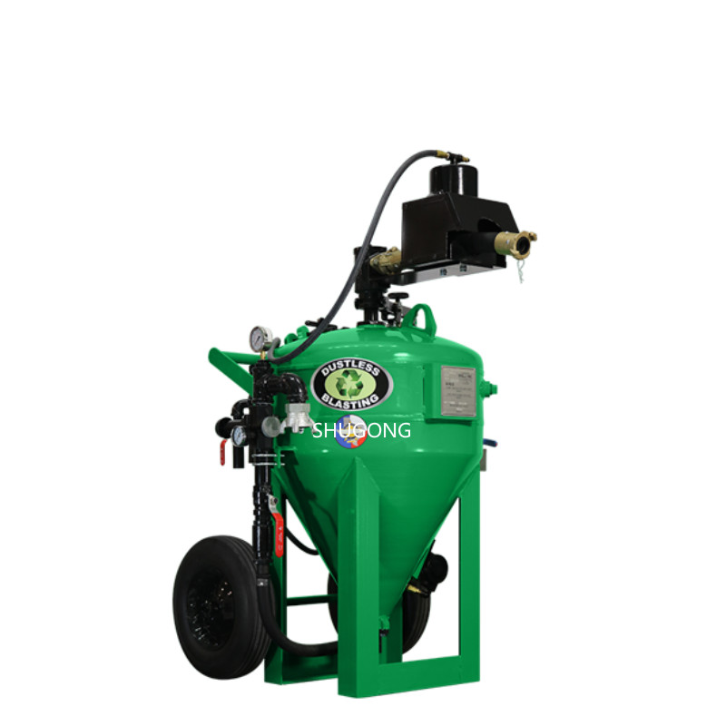 CE/ISO approved factory price abrasive dustless blasting machine db500