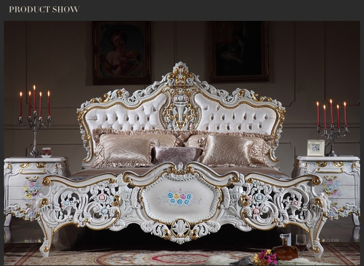 antique hand carved wood furniture-royal furniture french style