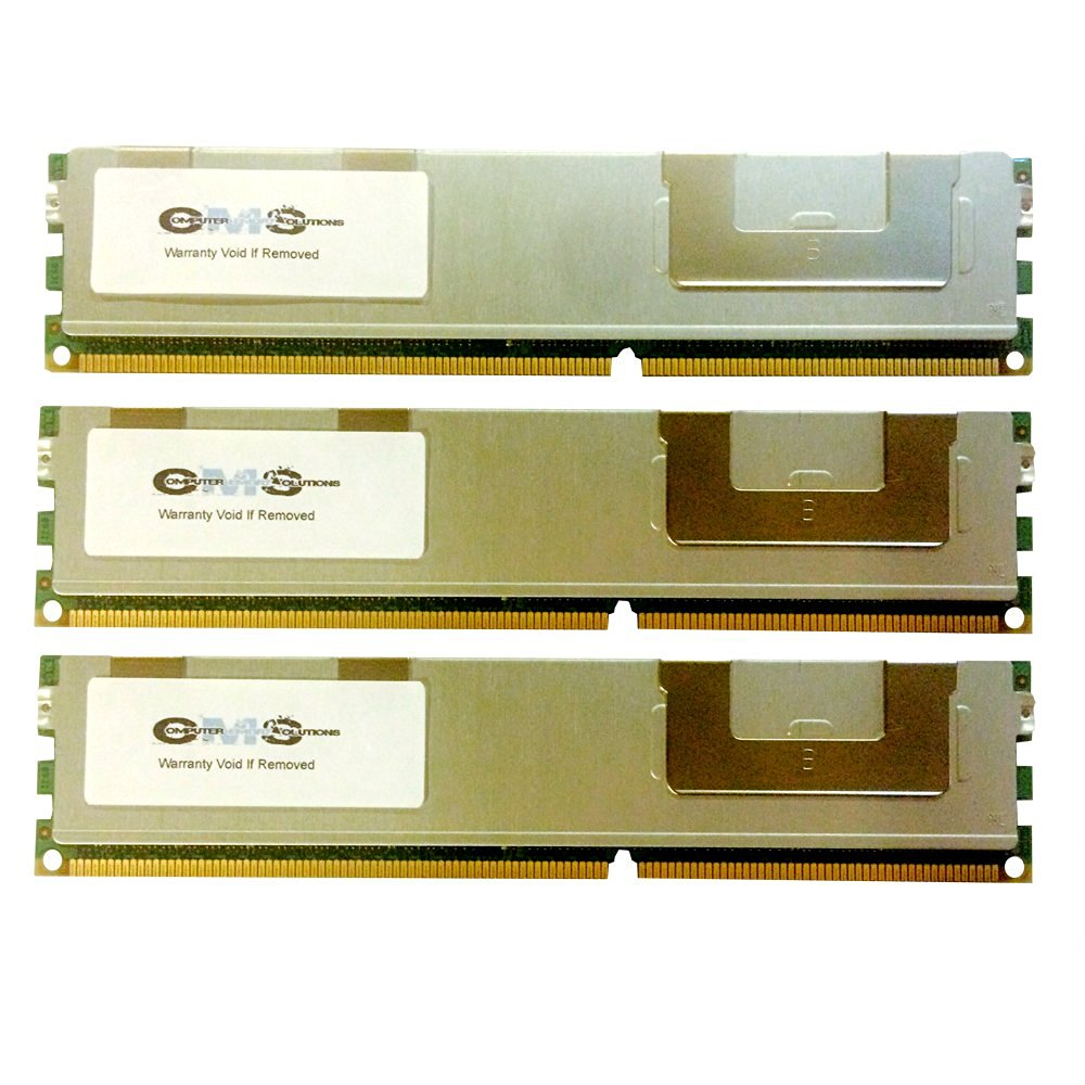 48GB 3X16GB Memory RAM FITS Dell PowerEdge M610x, M610 DDR3 ECC Reg by CMS B110