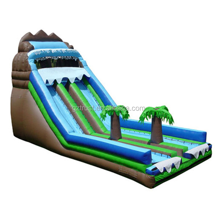 Factory price children giant inflatable air jumping trampoline bouncing castle combo