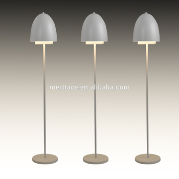 Hotel Decorative Standing Light Modern Aluminum Floor Lamp Flexible Swivel Height Adjule Hall
