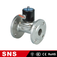 SNS pneumatic stainless steel ball foot air compressor solenoid valve, control valve