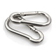 Wire rope accessories ss304 stainless steel carabiner hook M6