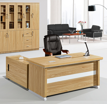 High End New Design Modern Luxury Wood Large Executive Desk