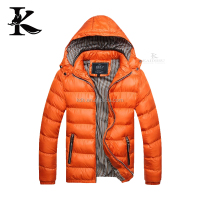 Winter Mens New Deisgn Quilted Padded Fitted Down Bomber Jacket