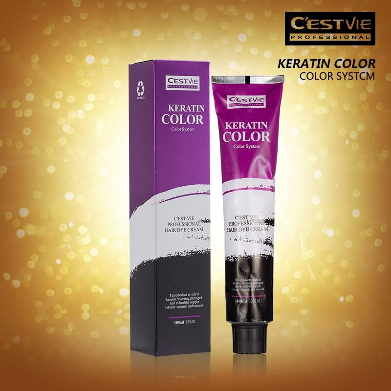 Cestvie Keratin De Luxe Non Ammonia Permanent Hair Color Hair Dye