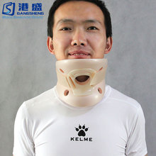 Household polymer neck enclosure cervical support collar traction fixation philadelphia cervical collar