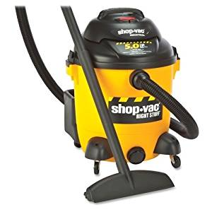 Shop-Vac Corporation Vacuum, Wet/Dry, 12 Gallon, 5.0 Hp, 18 Ft Cord, Yellow/Black - Shop-Vac Corporation Vacuum, Wet/Dry, 12 Gallon, 5.0 Hp, 18 Ft Cord, Yellow/Blackwet/Dry Vacuum Offers A Powerful 5