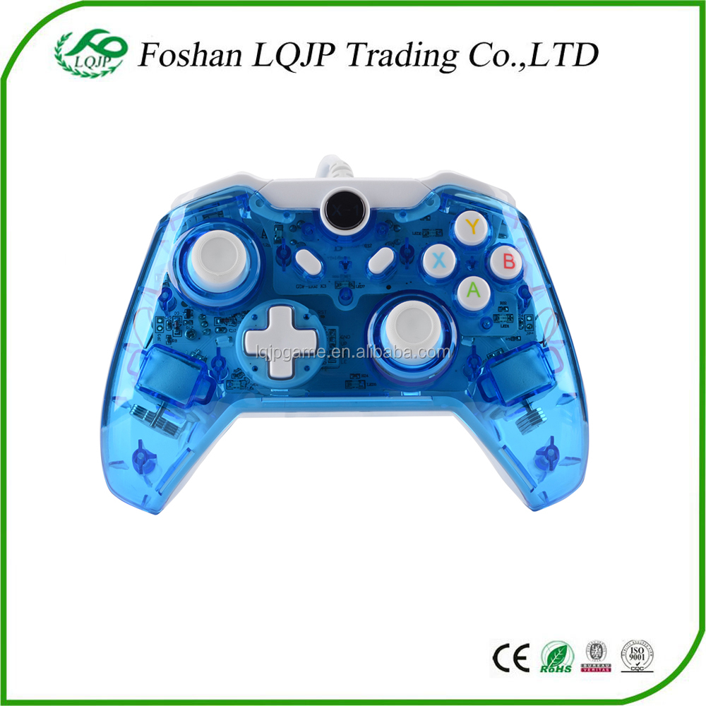 Wired Controller For Xbox One Gamepad With Led Lights For Xbox One ...