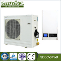 finely processed dc inverter spa heat pump by Sundez heat pump factory