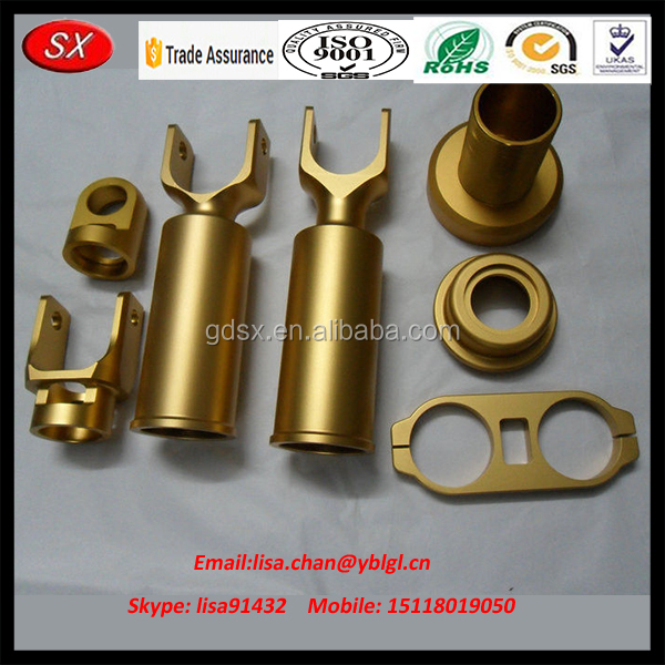 China Supplier OEM Laser Cutting Brass/Aluminum Cnc Machining Driling Service