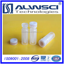 Manufacturing 2ml small clear plastic vials with snap caps