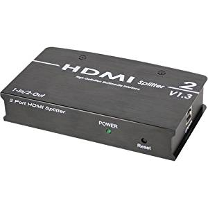 """Siig 1X2 Hdmi Splitter . 1 X 2 . 1920 X 1200 """"Product Type: Switchboxes/Video Switchboxes"""""""