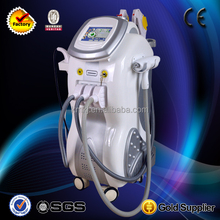 Salon Top best effective 4 in 1 ipl+rf+elight+nd yag laser with TUV/CE