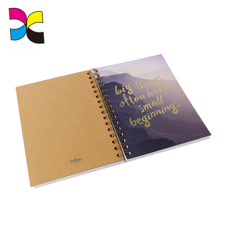 Zengcheng factory custom recycled notebooks printing wholesale