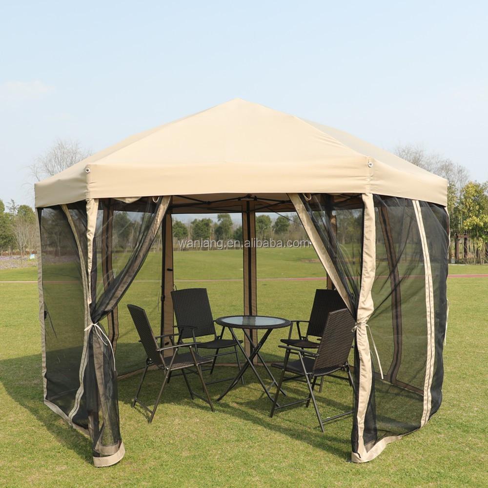 Quick Pop Up Hexagonal Garden Tents Gazebo For Sale Buy حديقة أكشاك المنبثقة الخيام سداسية أكشاك Product On Alibaba Com