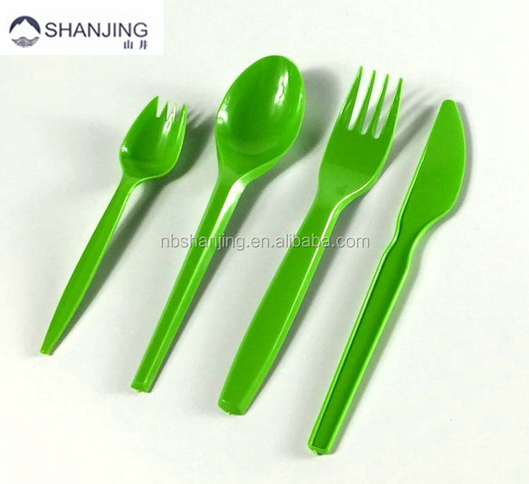 Disposable Plastic Cutlery Pack,Plastic Spoon Fork and Knife ,OEM Packaging