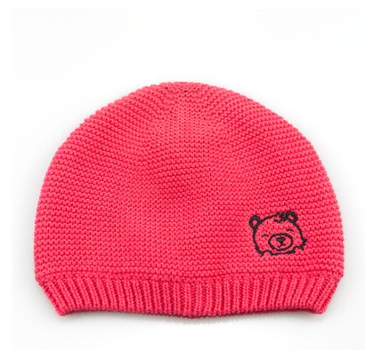 Original New Kids Beanie Winter Cotton Embroidery Crown Hats Newborn Baby Skullies Beanies Knitted Cap Girls Boys Autumn Solid Soft Hat To Enjoy High Reputation In The International Market Boy's Hats Boy's Accessories