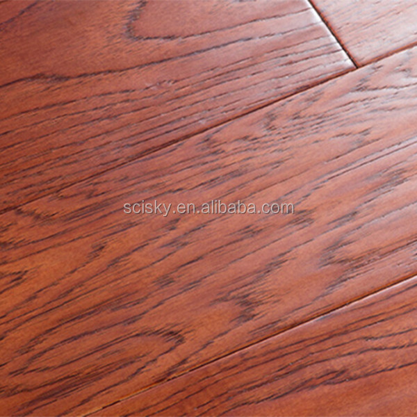 American Hickory Solid Composite Wooden Flooring Engineered Flooring Top Eco  Friendly Wooden Flooring