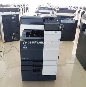 Used Digital Laser Copying Printing Machines for konica minolta bizhub 554e 454e Duplicator