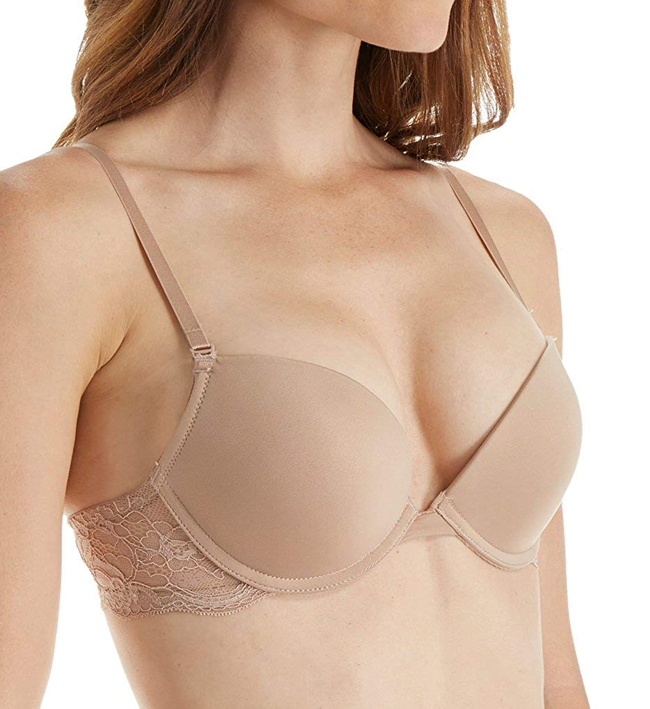 101bea1167 Get Quotations · Affinitas Nicole Plunge Push-Up Bra  1311