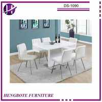 Dining Table Furniture Kitchen Room Set Modern Home Breakfast Dinner 7 Piece Dining Table Set