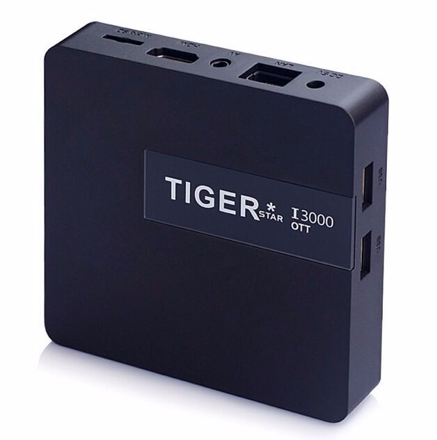 New arrivals Tiger I3000 OTT 4.4 kitkat smart tv box android